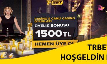 Trbet Casino Hoşgeldin Bonusu 1500 TL