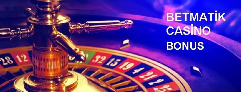 Betmatik Casino Bonus – 350 TL İlk Yatırım Bonusu