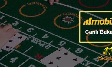 Evolution Canlı Casino Bakara oyunlarının tamamı Mobilbahis Casino'da